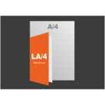 Hajtott szórólap LA4
