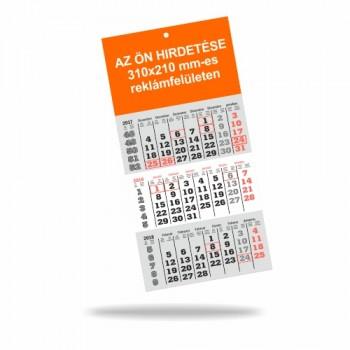 Speditőr naptár 2019 (310mm x 640mm) 12 lapos